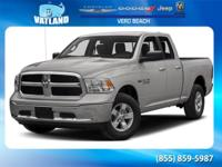 Certified. Black 2016 Ram 1500 Express 4WD Automatic