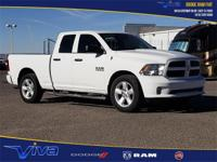 Bright White Clearcoat 2016 Ram 1500 Express RWD