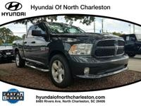 Clean CARFAX. Gray 2016 Ram 1500 RWD 8-Speed Automatic