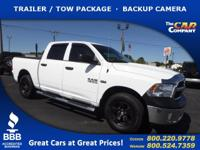 Used 2016 Ram 1500, DESIRABLE FEATURES: a BACKUP