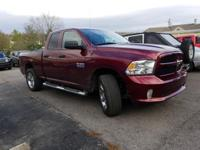 CARFAX One-Owner. Clean CARFAX. Red 2016 Ram 1500 4WD