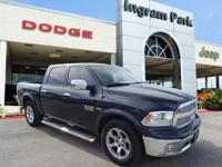 CarFax One Owner and Clean Title 2016 Ram 1500 Laramie.