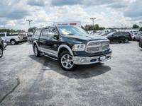 CARFAX One-Owner. Black Clearcoat 2016 Ram 1500 Laramie