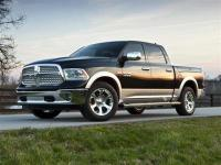 CARFAX One-Owner.White 2016 Ram 1500 4D Crew Cab