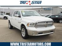 For a smoother ride, opt for this 2016 RAM 1500 Laramie