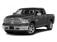 2016 Ram 1500 Laramie in Black, *White Glove Detailed*,