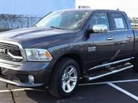 One-Owner Charcoal 2016 Ram 1500 Crew Cab with an