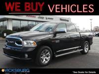 Options:  2016 Ram 1500 Laramie Longhorn|Black|Abs