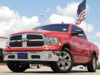 2016 Ram 1500 w/ GPS Navigation Flame Red Clearcoat