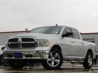 2016 Ram 1500 Bright Silver Metallic Clearcoat 8-Speed