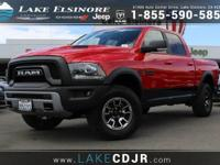 This 2016 Ram 1500 Rebel is offered to you for sale by