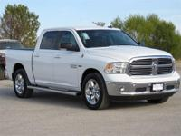 Crew Cab! Gasoline! This terrific-looking 2016 Ram 1500