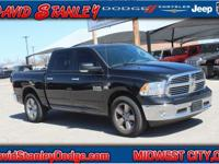 CARFAX One-Owner. Clean CARFAX. Black 2016 Ram 1500 SLT