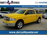 This outstanding example of a 2016 Ram 1500 SLT LONE