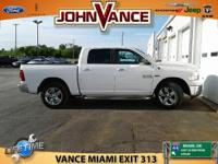 Options:  2016 Ram 1500 Slt|Carfax 1-Owner|Low Miles -