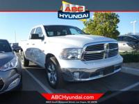 CARFAX One-Owner. Clean CARFAX. Bright White 2016 Ram