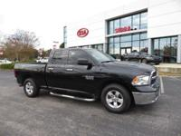 Brilliant Black Crystal Pearlcoat 2016 4D Quad Cab Ram