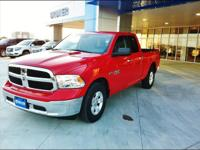 HEMI POWER and beautiful shiny RED EXTERIOR with