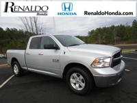 2016 Ram 1500 Silver   CARFAX One-Owner.    Proudly