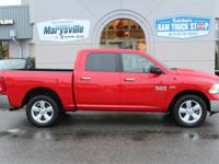 This 2016 Ram 1500 SLT Crew Cab 4X4 Hemi ONE-OWNER
