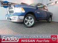 Come see this 2016 Ram 1500 SLT. Its Automatic