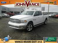 Big Horn trim, Bright White Clearcoat exterior and