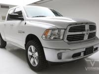 This 2016 Ram 1500 SLT Bighorn Crew Cab 4x4 with only