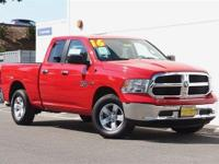 4x4!!! It's Got a HEMI!!! 2016 Dodge Ram 1500 Quad