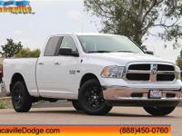 2016 Ram 1500 Bright White Clearcoat  CARFAX One-Owner.