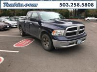 WOW!!! Check out this. 2016 Ram 1500 Outdoorsman Blue