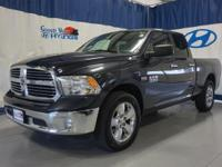 2016 DODGE RAM 1500 4X4 BIG HORN!!!! Get stuff done and