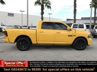 New Price! Detonator Yellow Clearcoat 2016 Ram 1500