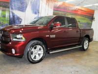 *Rule the roads in this awesome 2016 Ram 1500 Sport