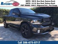 LOW MILEAGE 2016 RAM 1500 SPORT 2WD CREW CAB**CLEAN CAR