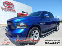 LEATHER, 4WD, BACKUP CAMERA, NAV, 1500 Sport 4WD, HEMI
