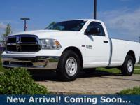 2016 Ram 1500 Tradesman in Bright White Clearcoat, This