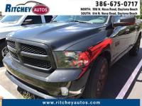 LOW MILEAGE 2016 RAM 1500 TRADESMAN 2WD CREW CAB**CLEAN