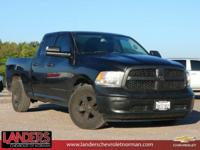 Black Clearcoat 2016 Ram 1500 Tradesman RWD 8-Speed
