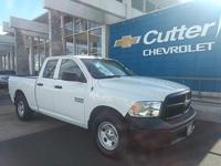 2016 Ram 1500 Tradesman Bright White Clearcoat RWD