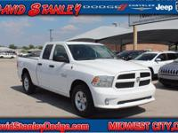 **CARFAX ONE OWNER**. 1500 Tradesman, 4D Quad Cab, 3.6L