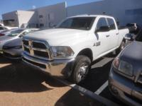 CARFAX One-Owner. Clean CARFAX. 2016 Ram 2500 White 4WD