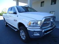 Come see this 2016 Ram 2500 Laramie. Its transmission