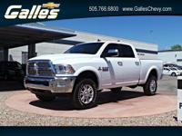 This Ram 2500 has a dependable Intercooled Turbo Diesel