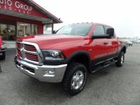 Options:  2016 Ram 2500 Navigation! Heated Seats And