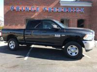 2016 RAM 2500 CREW CAB 4X4 WITH JUST 41K MILES! THIS