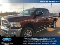 CARFAX One-Owner. Agriculture Red 2016 Ram 2500 Big