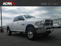 2016 Ram 2500, key features include:  **One Owner**,