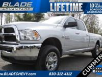 SLT, 4WD/4x4, Cummins, **CARFAX ONE OWNER, **Only 8.7%