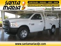 Options:  2016 Ram 2500 Tradesman 2Wd 140Wb|One Owner