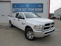 This New 2016RAM2500Tradesman is well Equipped with